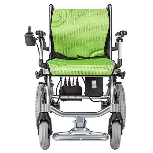 FTFTO Inicio Accesorios Ancianos Discapacitados Silla de Ruedas eléctrica Ligera Batería de Litio Aleación de Aluminio Ligera Ancianos Discapacitados Vehículo Scooter Aproximadamente 14 kg