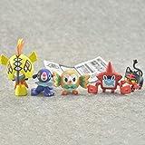 Pokemon Anime Figure Giocattoli Svegli Rowlet Popplio Rotom Tapu Koko Litten Modello Bambola Azione Mostro tascabile Figura Juguetes Regalo di...