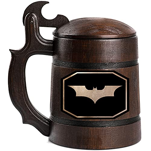 Batman The Dark Knight Beer Mug, Movie Beer Stein, Custom Beer Stein, Gamer Gift, Personalized Beer Tankard, Gift for Men, Gift for Him
