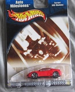 Hot Wheels Auto Milestones Ferrari 360 Modena RED 1:64 Scale Collectible Die Cast Car