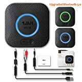 1mii Bluetooth 5.0 Receiver, Bluetooth Audio Adapter with 3D Surround aptX Low Latency