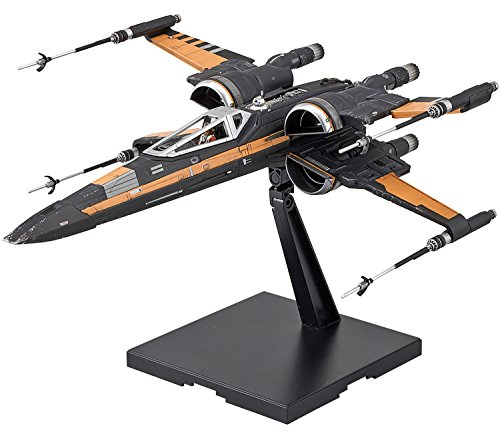 Bandai Star Wars 1/72 Poe's Boosted X-Wing Fighter Plastic Kit