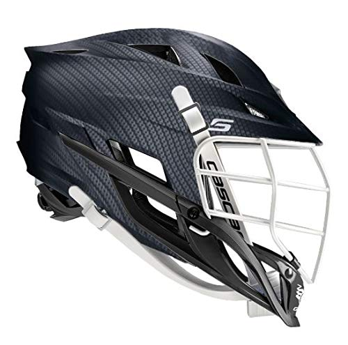 Amazon Cascade S-Youth Lacrosse Helmet Customizable-Carbon-Black Facemask