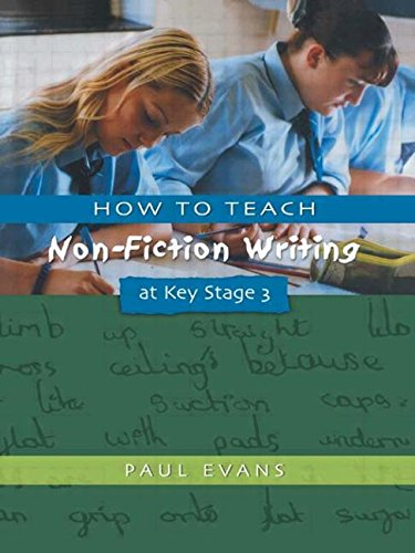 How to Teach Non-Fiction Writing at Key Stage 3 (Writers' Workshop)