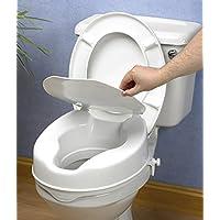 Ayudas tecno dinamicas - Elevador de WC , con tapa , 10 cm