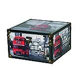 Kleiber–91979–Baúl London Box Grande–Maletín, Box, Madera, Negro, 30x 18, 5cm