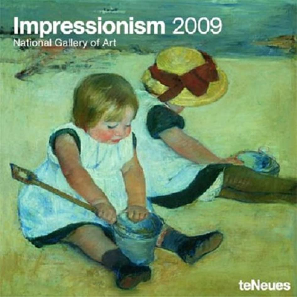 並外れてフルーツ祭りImpressionism 2009 Calendar: National Gallery of Art (Grid Calendar)