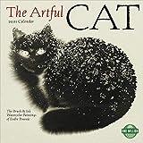 The Artful Cat 2021 Wall Calendar: Brush & Ink Watercolor Paintings