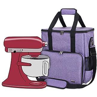 Luxja-Portable-Aufbewahrungstasche-fr-KitchenAid-Mixer-und-Zubehr-passend-fr-45-Liter-und-Alle-5-Quart-KitchenAid-Mixer