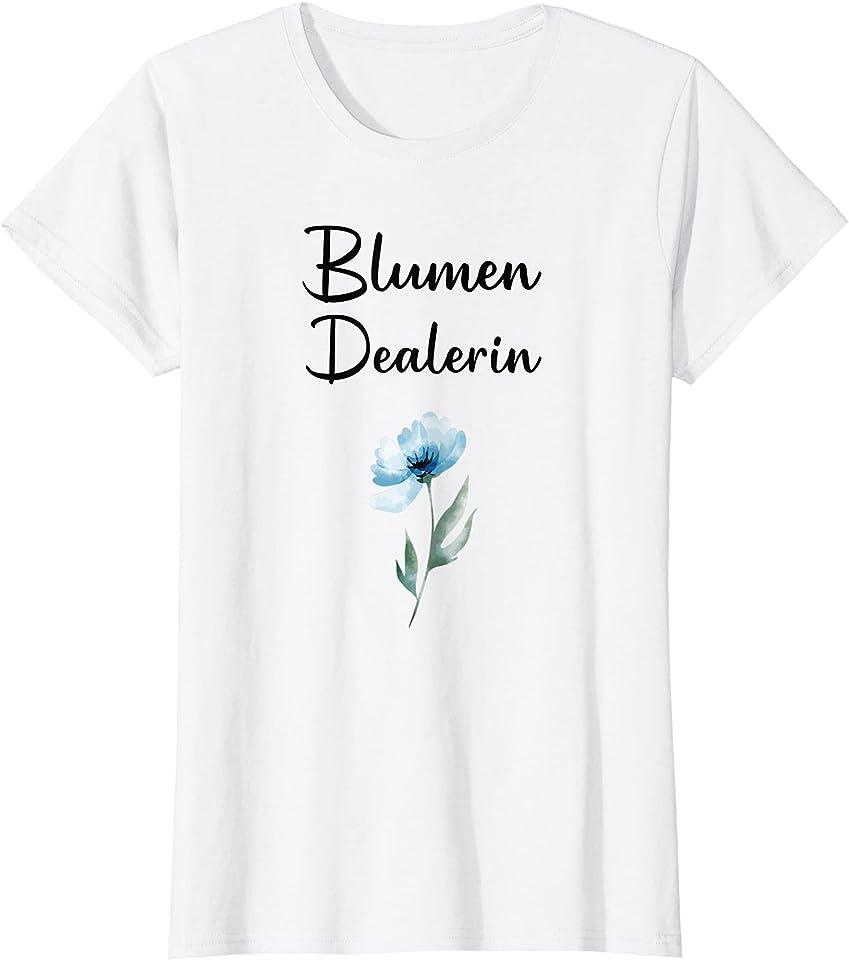 Damen Blumen Dealerin Floristik Florist T-Shirt