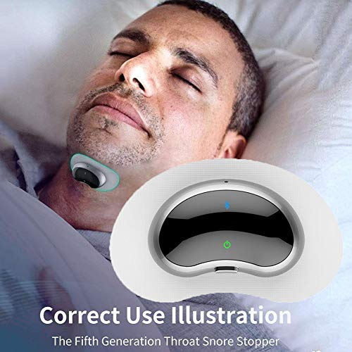 Smart Anti Snoring Device 10Pcs Magnetic Snap Physiotherapy Electrodes Patch Conductive Gel For Smart Anti-snore Stop Snore Circle Device Sleeping Tools