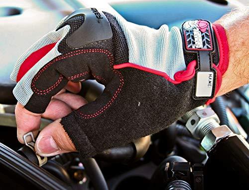 Grease Monkey Pro Fingerless Gloves (Large)