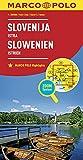 MARCO POLO Länderkarte Slowenien, Istrien 1:300 000: Wegenkaart 1:300 000 (MARCO POLO Länderkarten)