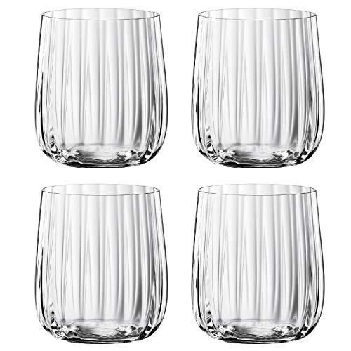 Spiegelau & Nachtmann, 4-teiliges Becher-Set, Kristallglas, 340 ml, Spiegelau LifeStyle, 4450175
