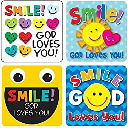 Smile, God Loves You! Sticker Pack