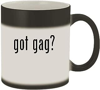 got gag? - 11oz Magic Color Changing Mug, Matte Black