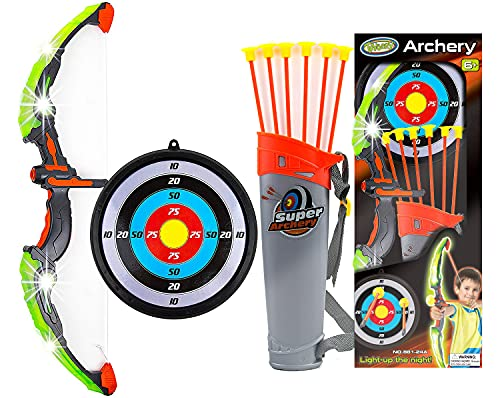 Toysery Bow and Arrow for Kids with LED...