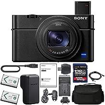 Sony Cyber-Shot DSC-RX100 VII Digital Camera (DSC-RX100M7) + AOM 128GB Bundle Package Kit - International Version (1 Year AOM Wty)