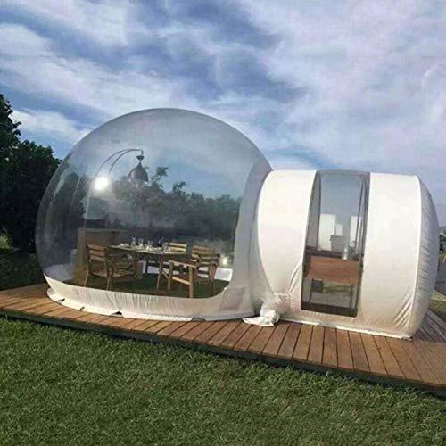 DAMAI Tienda De Campaña Hinchable De Burbujas, Casa Inflable De La Tienda De La Burbuja con Kit De Reparación Y Soplador CE/UL Gratis