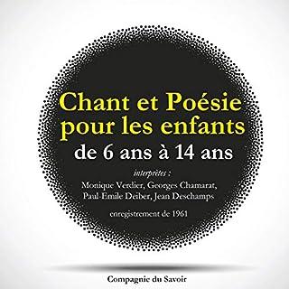 Couverture de Chant et poésie pour les enfants de 6 ans à 14 ans