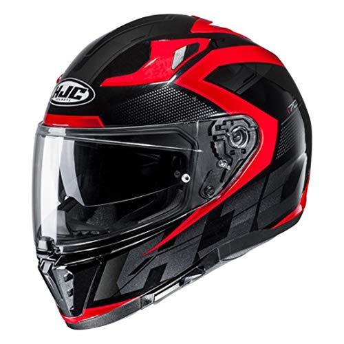 Casco moto HJC i70 ASTO MC1, Nero/Rosso, M