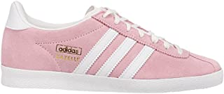 adidas Womens Gazelle Og Lace Up Sneakers Shoes Casual - Pink