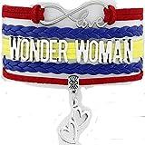 Wonder Woman Infinity Love Bracelet - 8.5 Inches for Mom, Wife Grandma