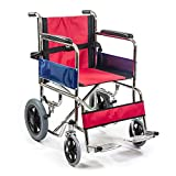 KosmoCare Premium Imported Lightweight Compact Folding wheelchair (Dura Slendix )