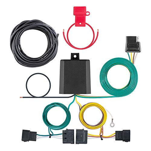 CURT 56329 Vehicle-Side Custom 4-Pin Trailer Wiring Harness, Fits Select Ford...