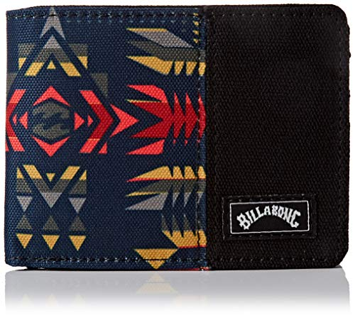 Tides Wallet BILLABONG - Cartera con Estampado Militar, (Multicolor (Sunset)), Talla única