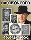 Harrison Ford Swirls Dots Waves Diagonals Lines Coloring Book: Harrison Ford Spirograph Styles Colouring Books For Adult And Kid - Relaxation