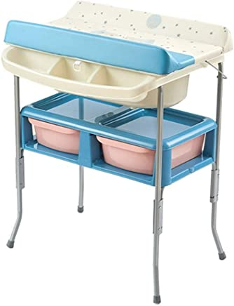 Baby Changing Diaper Table Baby Diaper Table Baby Bath Unit  Diaper Station Portable Storage Dressing Table Child Nursery Organizer