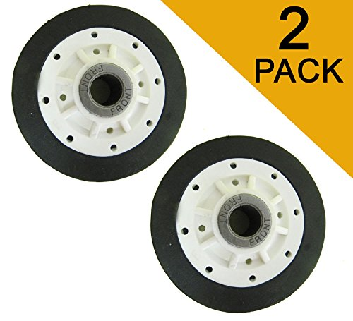 Price comparison product image (2 PACK) WP 37001042,  AP4046756,  PS2039408,  14218934,  966673 Drum Support Roller