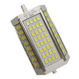 R7s LED 118mm 30w Led Regulable. Color Blanco Neutro (4500K). 3000 Lumenes. Sin ventilador. A++