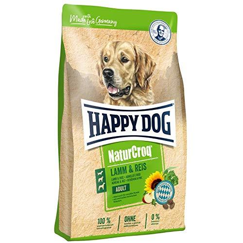 Happy Dog Premium - NaturCroq Lamm & Reis, 4 kg