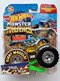 Hot Wheels Monster Trucks 2020 1:64 Scale Truck with Crushable Car #49/75 HW Flames #4/5 Haul Y'all