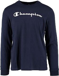 aead52d3 Champion Long Sleeve Crewneck T-Shirt For Men - Navy XL