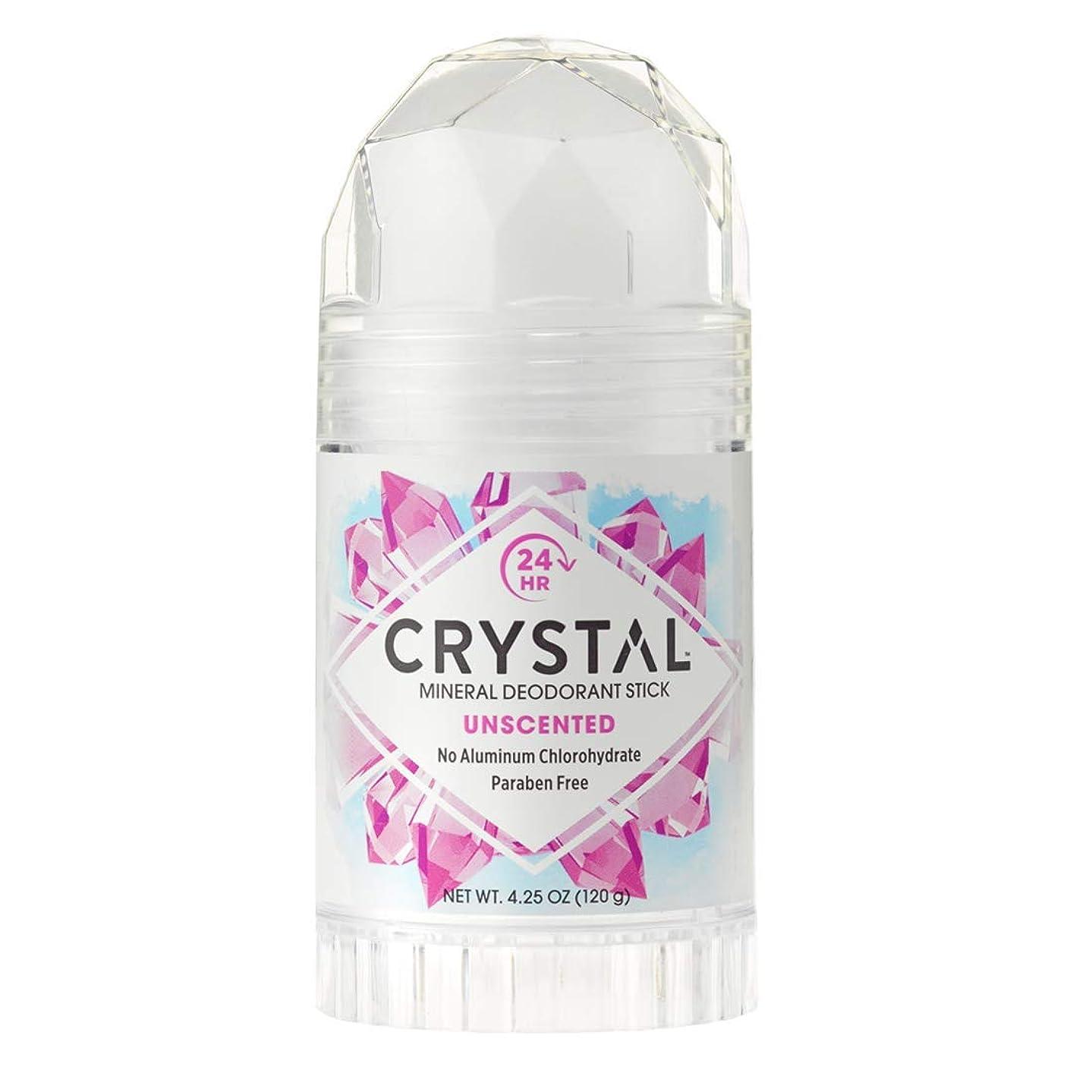 犯人あそこテンションCrystal Deodorant Stick Twist-Up 126 ml (並行輸入品)