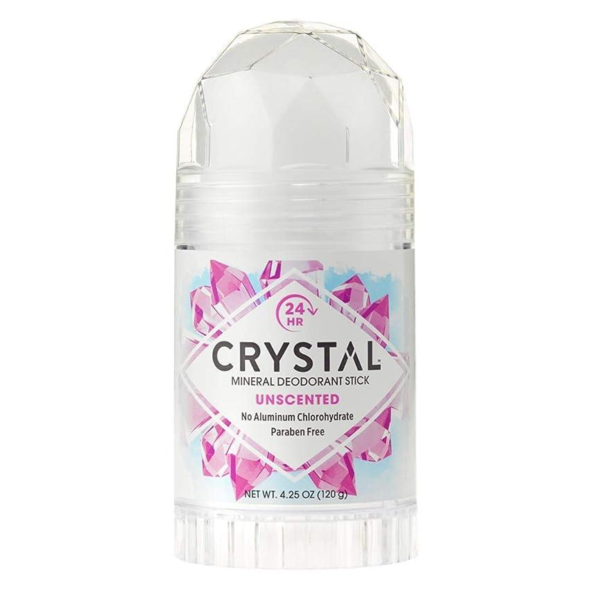 軍艦円形のテスピアンCrystal Deodorant Stick Twist-Up 126 ml (並行輸入品)