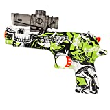 Anstoy Gel Ball Blaster Toy Pistol Backyard Fun Outdoor Fighting Shooting Team Games for Boys and Girls Ages 6+ (Graffiti Green)