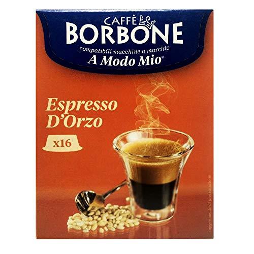 16 Capsule Caffè Borbone espresso orzo compatibili A Modo Mio ®