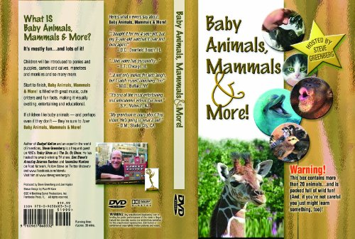Baby Animals Mammals and More DVD