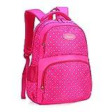 WOAIBAOBAO Sacs D'École Mignons Adolescent Cartable Enfants Princesse Orthopédique Cartable Multilevel Rucksack Travel Backpack