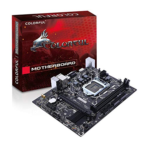 Colorful H310M-E V21 Motherboard with Dual DDR4 Memory Slots Support Intel LGA1151 Coffee Lake-S Series Processors