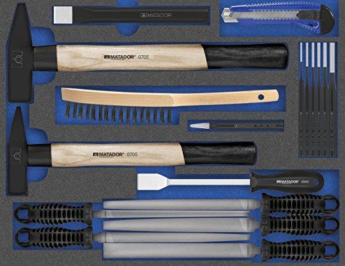 MATADOR Schraubwerkzeuge 8162 1703 MTS-Q: Mechaniker-Werkzeuge XL, 3/3: 440 x 340 mm