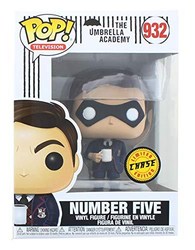 Pop! TV: Number Five Chase Edition The Umbrella Academy Pop! Vinyl Figure (Includes Compatible Pop...