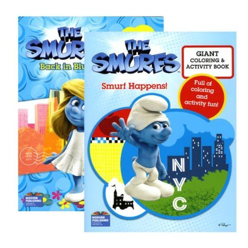 The Smurfs Movie Coloring Book - Ba…