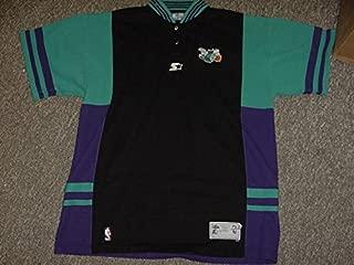 Muggsy Bogues Charlotte Hornets Game Worn Shooting Shirt