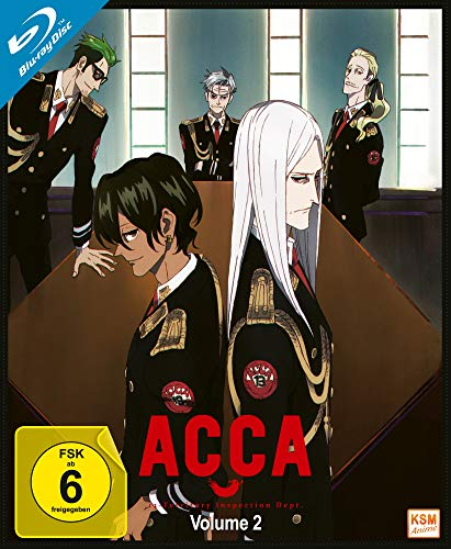 ACCA - Volume 2: Episode 05-08 [Blu-ray]