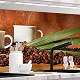 StickerProfis Küchenrückwand selbstklebend Pro Pure Coffee 60 x 280cm DIY - Do It Yourself PVC Spritzschutz